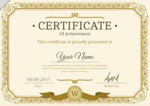 شهادة شكر وتقدير - Copy